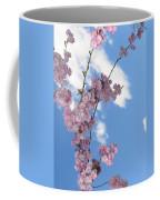 Cherry Floral Fountain Coffee Mug