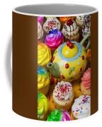 Cherry Teapot And Cupcakes Coffee Mug