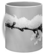 Cherryblossom With Snow Coffee Mug