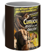 Chesapeake Bay Retriever Art - Curucu Movie Poster Coffee Mug