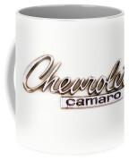 Chevrolet Camaro Emblem Coffee Mug