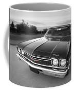 Chevrolet El Camino In Black And White Coffee Mug