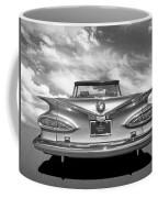 Chevrolet Impala 1959 In Black And White Coffee Mug