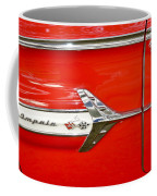 Chevrolet Impala Classic In Red Coffee Mug