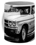 Chevy Chevrolet Chevelle Ss Burning Rubber Coffee Mug