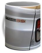 Chevy Nova Ss Emblem And Tail Light Coffee Mug