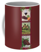 Chianti And Friends Collage 1 Coffee Mug by Debbie DeWitt
