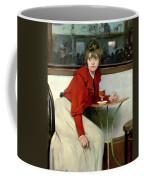 Chica In A Bar Coffee Mug