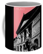 Chicago Art Institute Of Chicago - Light Red Coffee Mug