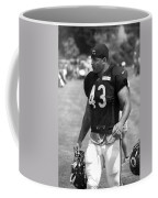 Chicago Bears Fb Tony Fiammetta Training Camp 2014 Bw Coffee Mug