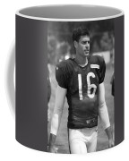 Chicago Bears P Patrick O'donnell Training Camp 2014 Bw Coffee Mug