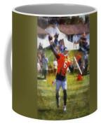 Chicago Bears Qb Jay Cutler Training Camp 2014 04 Photo Art 02 Coffee Mug