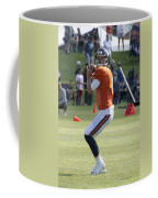 Chicago Bears Qb Jimmy Clausen Training Camp 2014 03 Coffee Mug