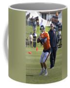 Chicago Bears Qb Jordan Palmer Training Camp 2014 04 Coffee Mug
