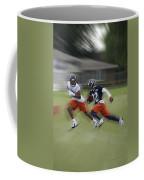 Chicago Bears Rb Michael Ford Moving The Ball Training Camp 2014 Coffee Mug