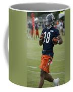 Chicago Bears Rb Shaun Draughn Training Camp 2014 01 Coffee Mug