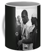 Chicago Bears S Adrian Wilson Training Camp 2014 Bw Coffee Mug