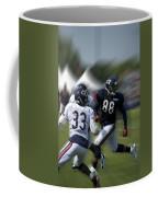 Chicago Bears Te Dante Rosario Training Camp 2014 03 Coffee Mug