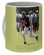 Chicago Bears Te Zach Miller Training Camp 2014 02 Coffee Mug