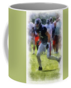 Chicago Bears Te Zach Miller Training Camp 2014 Pa 01 Coffee Mug