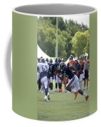 Chicago Bears Wr Brandon Marshall Training Camp 2014 05 Coffee Mug