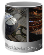 Chicago Blackhawks Before The Gates Open Interior 2 Panel Sb Coffee Mug
