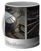 Chicago Blackhawks Zamboni Break Time 2 Panel Sb Coffee Mug