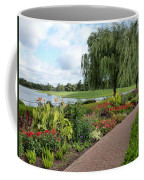 Chicago Botanical Gardens - 96 Coffee Mug by Ely Arsha