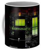 Chicago Brick Facade Glow Coffee Mug