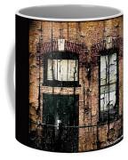 Chicago Brick Facade Grunge Coffee Mug