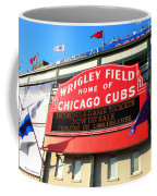 Chicago Cubs Marquee Sign Coffee Mug