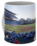 Chicago Cubs Pregame Time Panorama Coffee Mug