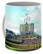 Chicago Cubs Scoreboard 01 Coffee Mug
