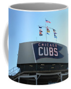 Chicago Cubs Signage Coffee Mug