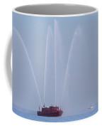 Chicago Fireboat Coffee Mug by Adam Romanowicz