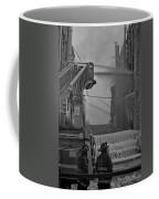 Chicago Firemen Looking On Coffee Mug