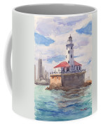 Chicago Harbor Light Coffee Mug