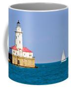 Chicago Harbor Lighthouse Coffee Mug