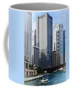Chicago Il - Chicago River Near Wabash Ave. Bridge Coffee Mug
