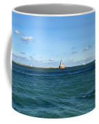 Chicago Illinois Harbor Lighthouse And Little Lady Tour Boat Usa Coffee Mug