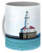Chicago Illinois Harbor Lighthouse Close Up Usa Coffee Mug