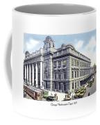 Chicago Illinois - Northwestern Railroad Station - 1927 Coffee Mug