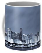 Chicago In Blue Coffee Mug