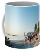 Chicago Lakefront Panorama Coffee Mug by Steve Gadomski