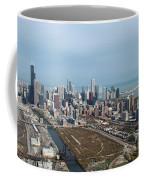 Chicago Looking North 02 Coffee Mug