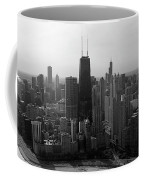 Chicago Looking South 01 Black And White Coffee Mug