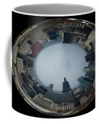 Chicago Looking West Polar View Coffee Mug