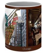 Chicago Macys Department Store 2 Panel Coffee Mug