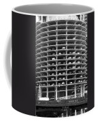 Chicago Marina City Parking Bw Coffee Mug