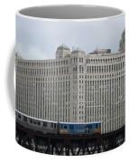 Chicago Merchandise Mart And Cta El Train Coffee Mug